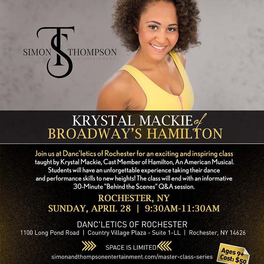 HAMILTON Master Class Series with Krystal Mackie - Danc'letics