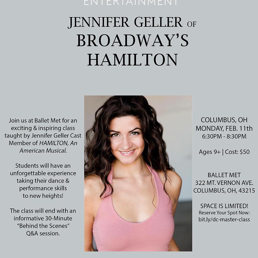 HAMILTON Master Class Series w/ Jennifer Geller - Ballet Met