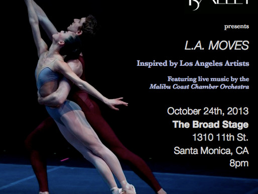 BARAK BALLET, LOS ANGELES October 24, 2013 Abigail is excited to announce an upcoming Guest Artist