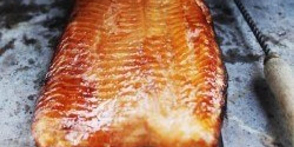 Home smoked Salmon!