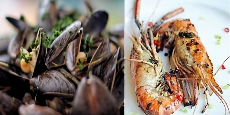 Prawn- & mussel night!