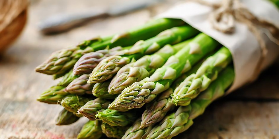 The asparagus is here!