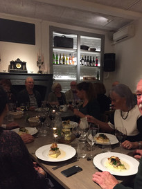 Dinner Writing Course with Jan Sigurd