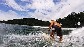 surfing drake bay