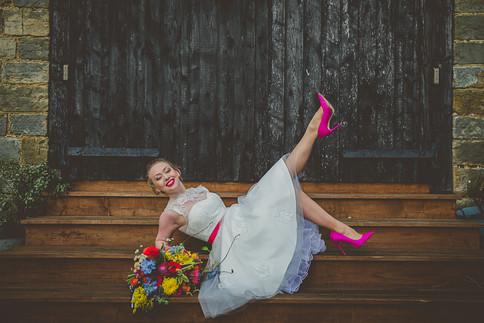 Vibrant Pink Bridal Look.jpg