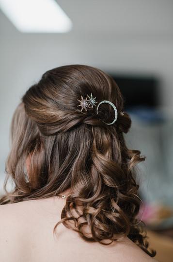 Astrology Theme Wedding Hair