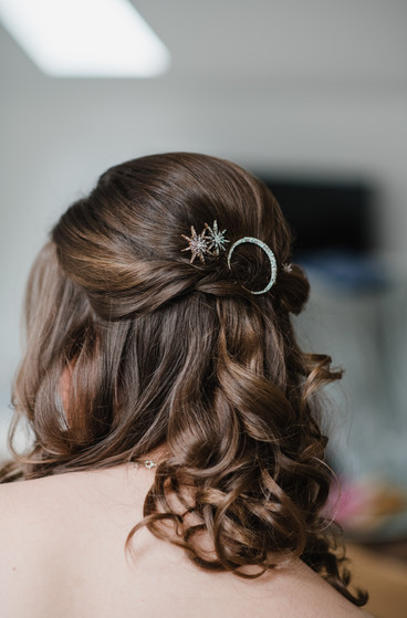 Astrology Theme Wedding Hair
