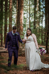 Lace Bridal Gown Woodland