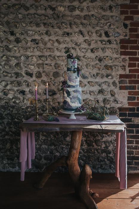 Modern Purple Wedding Cake.jpg