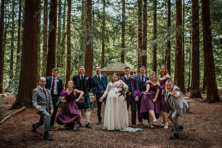 Fun Wedding Photo Two Woods Estate