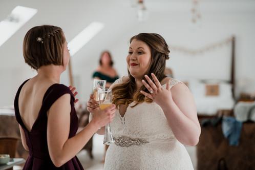 Lace Dress Bridal Details