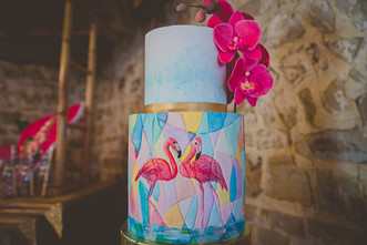 Flamingo Wedding Cake.jpg