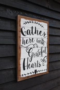 Gather Here Wedding Quote