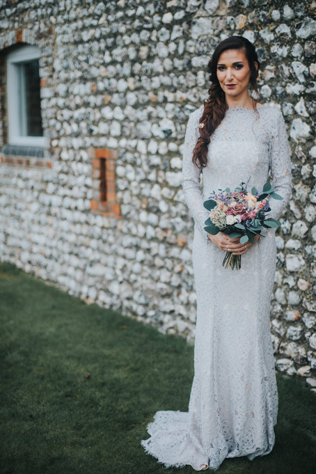 Grey Lace Bridesmaid Dress.jpg