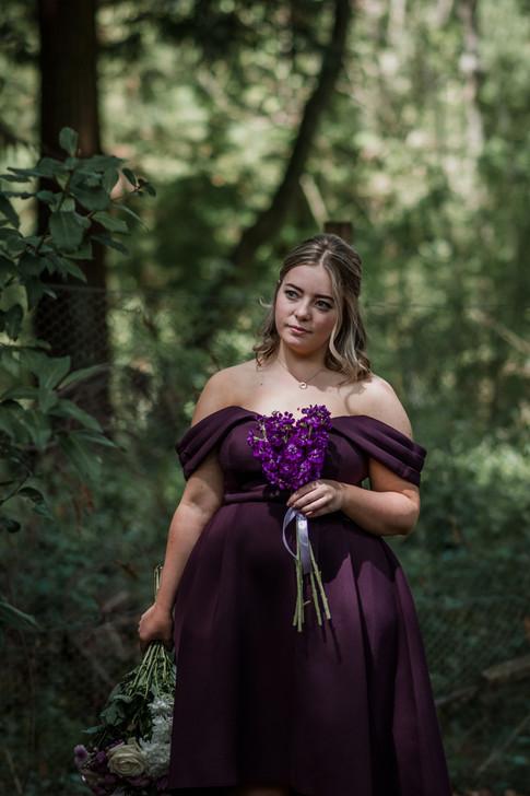Romantic Purple Wedding Theme