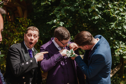 Fun Groomsman Photo