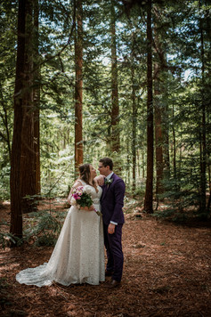 Woodland Rustic Couple