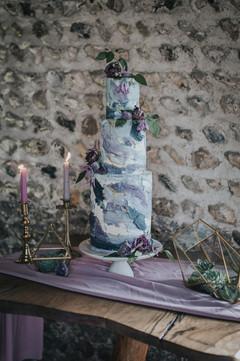 Purple Modern Wedding Cake.jpg