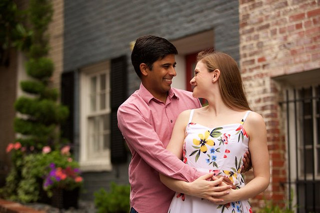 Maryland Engagement Portrait