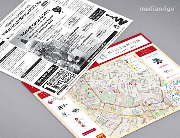 Advent Bécs térkép