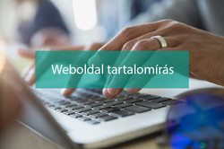 Weboldal tartalomírás