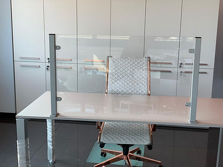 Schermo protettivo scrivania
