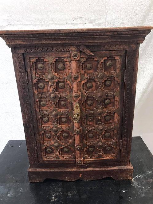 Antique Aztecs cabinet
