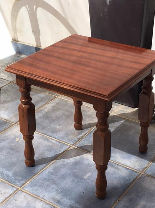 Two Small wood occasional tables