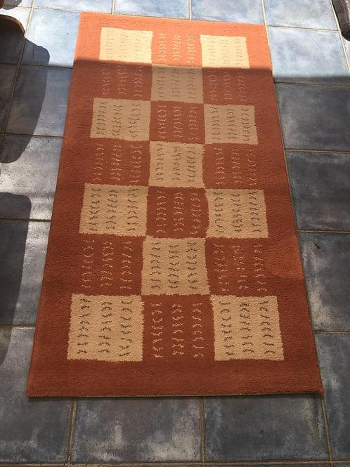 Terracotta rug