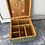 Thumbnail: Wooden military box with sectioned inserts added, ideal up cycle project