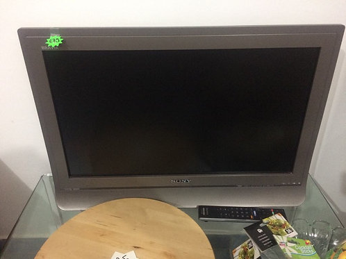 "Sony 30"" remote TV"