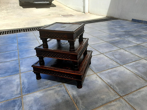 Indian wood tables