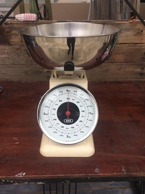 Cream AGA scales