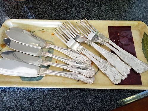 Viners Fish knives & forks set