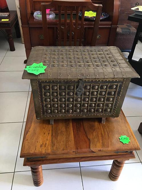 Beautiful vintage heavy metal myrrh box