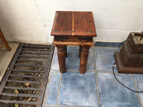 Indian Wood small square table