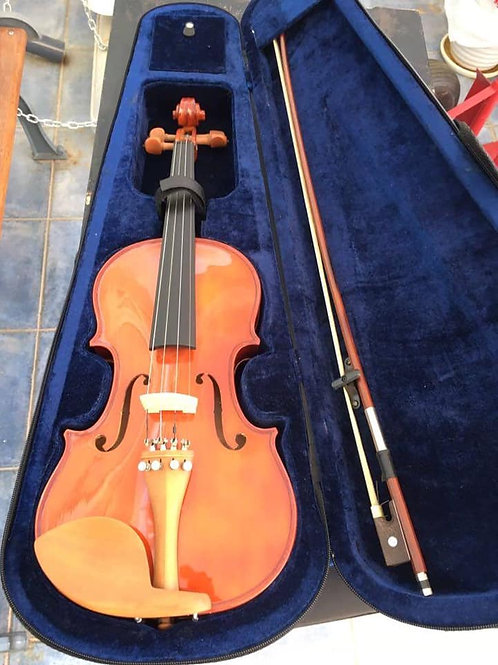 Beautiful violin in case in as new condition