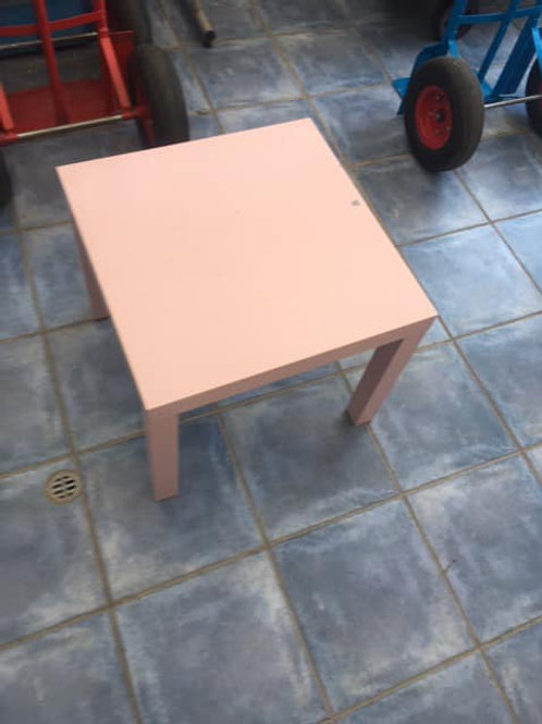 Pink occasional table