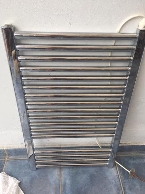 Bathroom chrome radiator