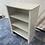 Thumbnail: White veneer bookcase/shelving unit