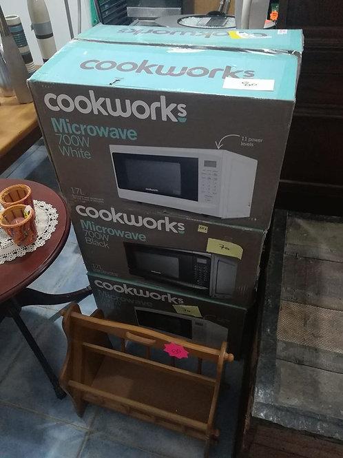 Selection brand new microwaves