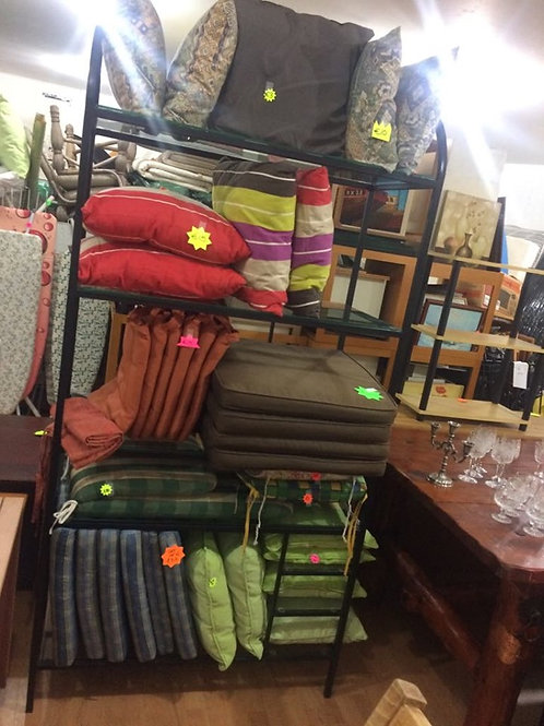 Various outdoor cushions