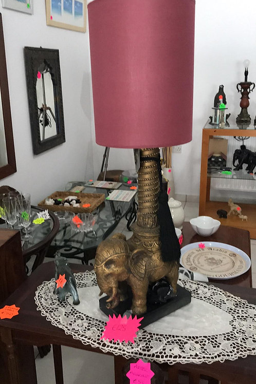 Brand new elephant lamp