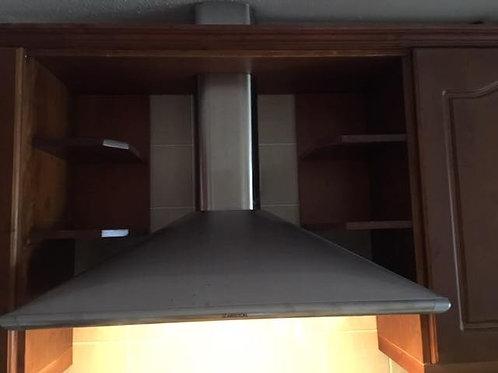 Ariston stainless cooker hood