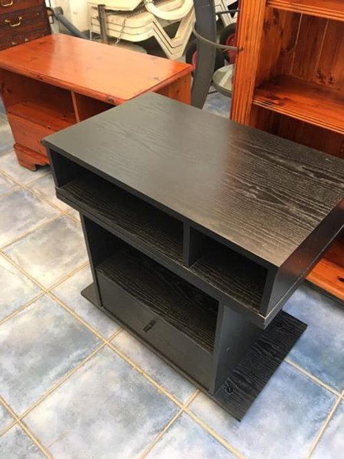 Black veneer TV unit