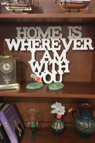 Home is wherever ... ornament