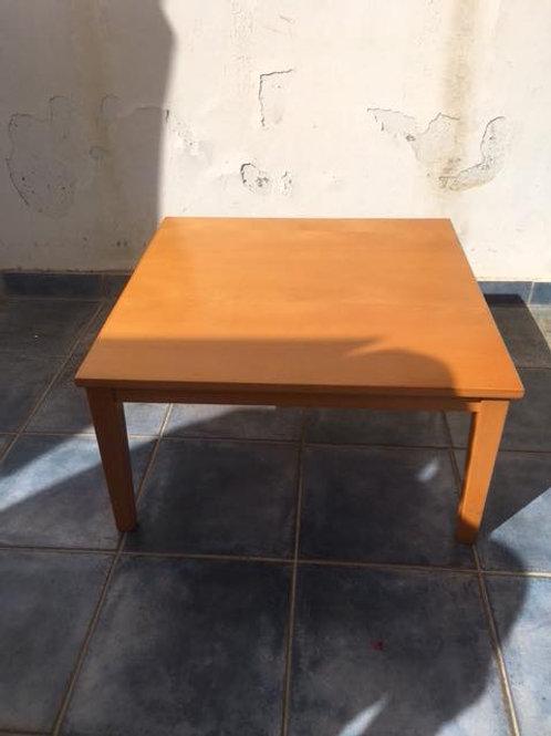 Light veneer coffee table