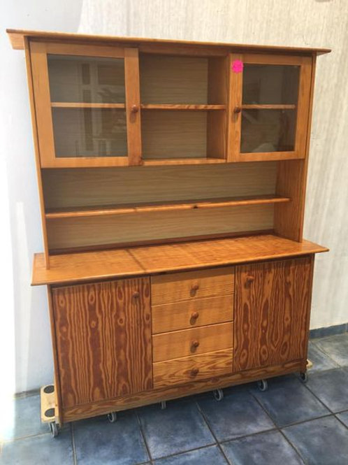 Pine Welsh dresser ideal for renovation
