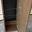Thumbnail: Brown veneer shelving cabinet
