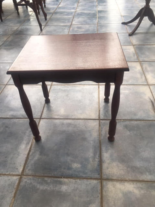 Good quality dark wood occasional table